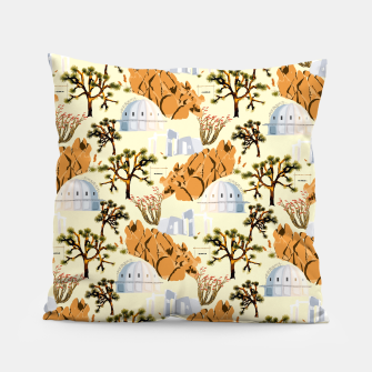 Thumbnail image of Joshua Tree Pillow, Live Heroes