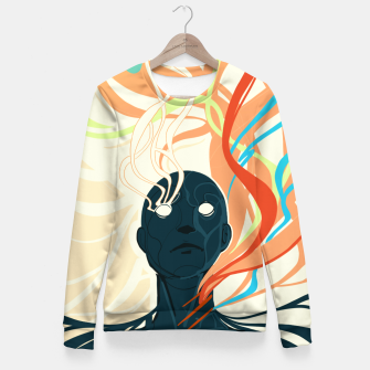 Thumbnail image of Colorfuel (Second Iteration) Fitted Waist Sweater, Live Heroes