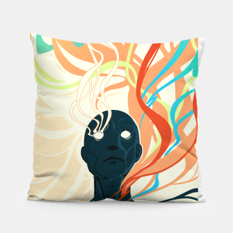 Thumbnail image of Colorfuel (Second Iteration) Pillow, Live Heroes