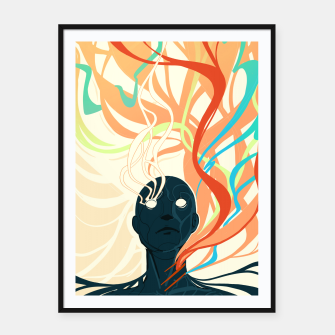 Thumbnail image of Colorfuel (Second Iteration) Framed poster, Live Heroes