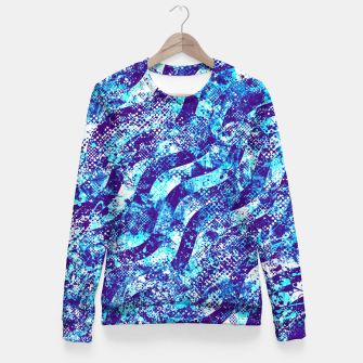 Thumbnail image of Splatter Design Fitted Waist Sweater, Live Heroes