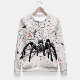 Thumbnail image of Spider! Taillierte Sweatshirt, Live Heroes