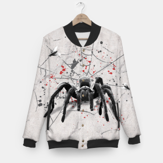 Thumbnail image of Spider! College-Jacke, Live Heroes