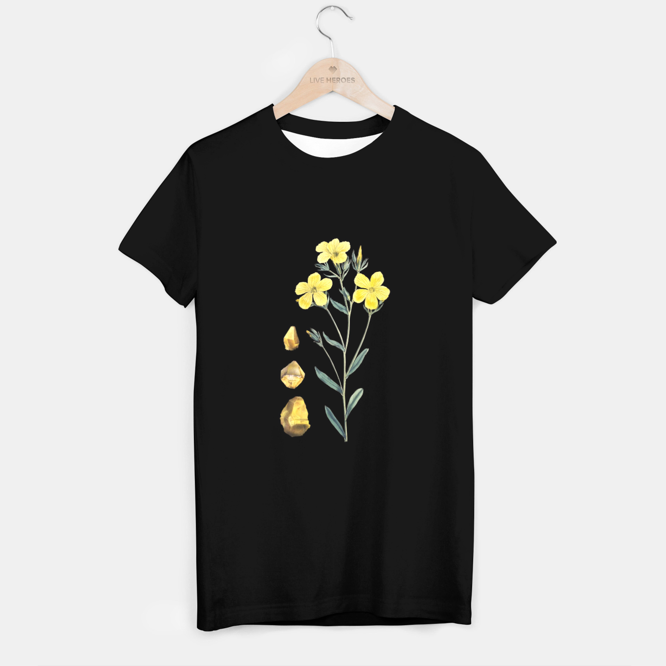 Image of Citrine T-shirt - Live Heroes