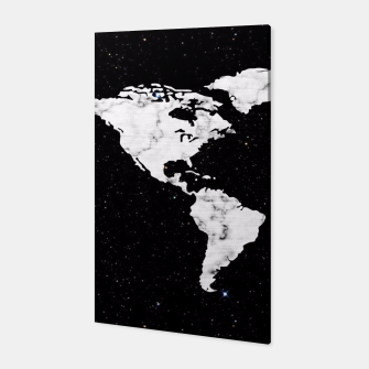 Thumbnail image of Marble World Map Canvas, Live Heroes