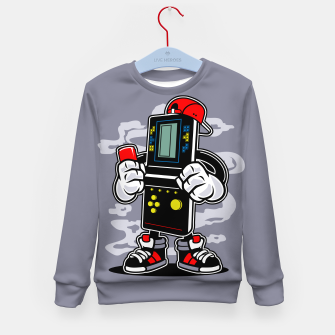 Thumbnail image of Tetris Boy Kids Sweatshirt, Live Heroes