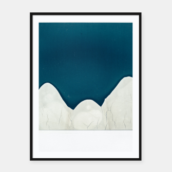 Miniatur MOUNTAINS 27455C Framed poster, Live Heroes