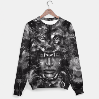 Thumbnail image of Empress Wolf Sweater, Live Heroes