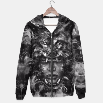 Thumbnail image of Empress Wolf Hoodie, Live Heroes