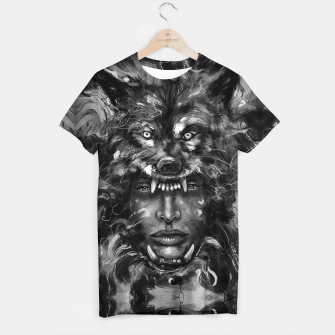 Thumbnail image of Empress Wolf T-shirt, Live Heroes