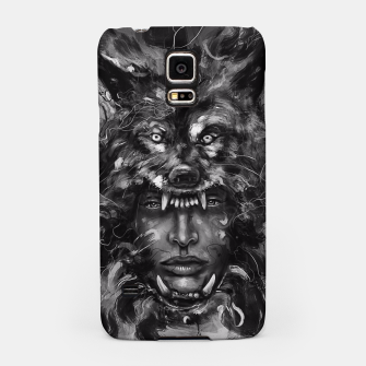 Thumbnail image of Empress Wolf Samsung Case, Live Heroes