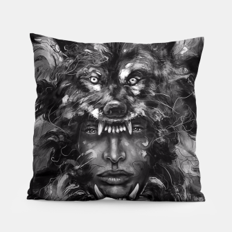 Thumbnail image of Empress Wolf Pillow, Live Heroes