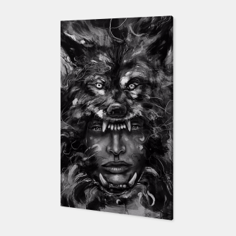 Thumbnail image of Empress Wolf Canvas, Live Heroes
