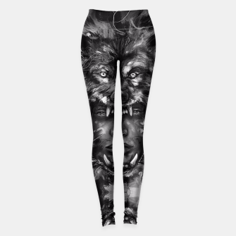 Thumbnail image of Empress Wolf Leggings, Live Heroes