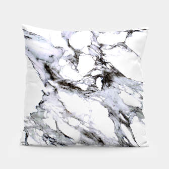 Miniaturka White Marble Pillow, Live Heroes