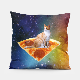 Thumbnail image of Space Cat Pillow, Live Heroes