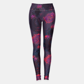 Thumbnail image of Night garden Leggings, Live Heroes