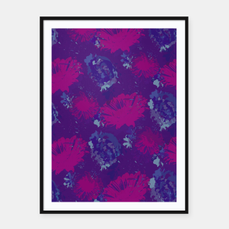 Thumbnail image of Pink gerberas Framed poster, Live Heroes