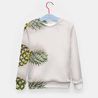 Thumbnail image of fruity Kid's Sweater, Live Heroes