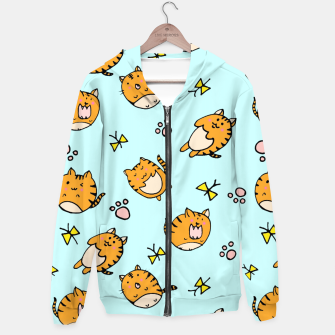 Thumbnail image of Kawaii Cats Hoodie, Live Heroes