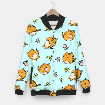 Thumbnail image of Kawaii Cats Baseball Jacket, Live Heroes