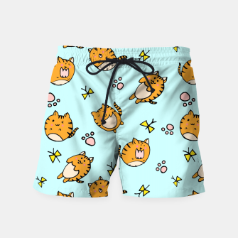 Thumbnail image of Kawaii Cats Swim Shorts, Live Heroes