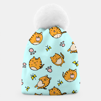 Thumbnail image of Kawaii Cats Beanie, Live Heroes