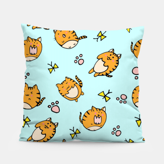Thumbnail image of Kawaii Cats Pillow, Live Heroes