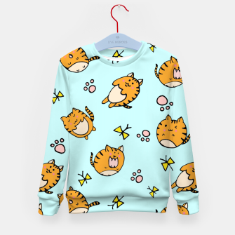 Thumbnail image of Kawaii Cats Kid's Sweater, Live Heroes