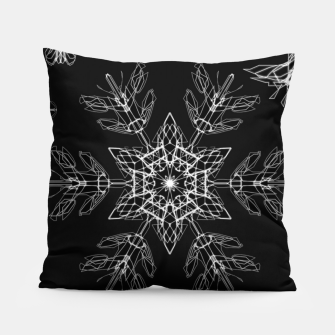 Thumbnail image of snowflakes in the night Pillow, Live Heroes