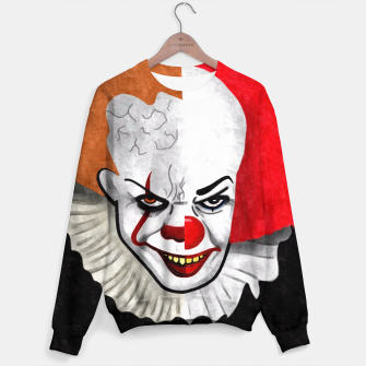 Thumbnail image of Pennywise the clown Sweater, Live Heroes