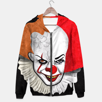 Thumbnail image of Pennywise the clown Hoodie, Live Heroes