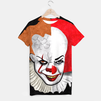 Thumbnail image of Pennywise the clown T-shirt, Live Heroes