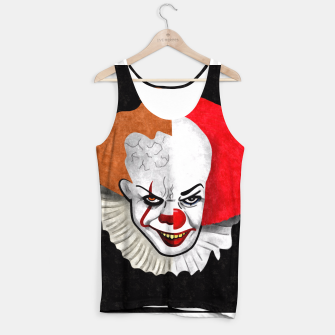 Thumbnail image of Pennywise the clown Tank Top, Live Heroes