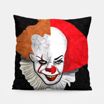 Thumbnail image of Pennywise the clown Pillow, Live Heroes