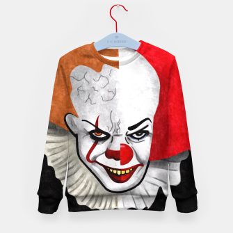 Thumbnail image of Pennywise the clown Kid's Sweater, Live Heroes