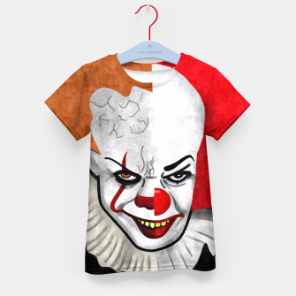 Thumbnail image of Pennywise the clown Kid's T-shirt, Live Heroes