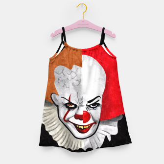 Thumbnail image of Pennywise the clown Girl's Dress, Live Heroes