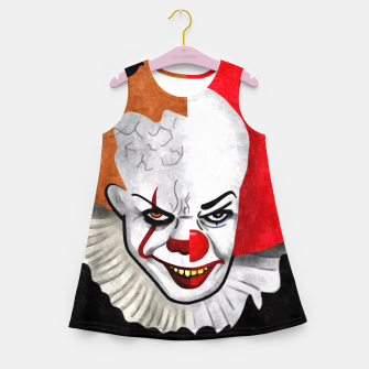 Thumbnail image of Pennywise the clown Girl's Summer Dress, Live Heroes