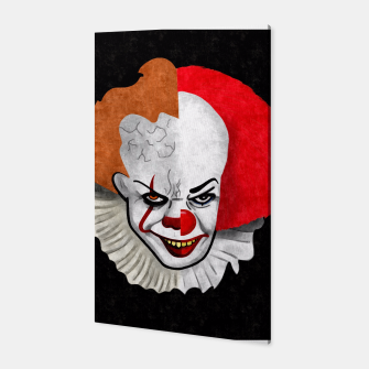 Thumbnail image of Pennywise the clown Canvas, Live Heroes