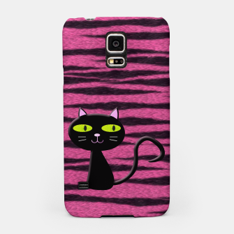 Miniatur tiger kitty Samsung Case, Live Heroes