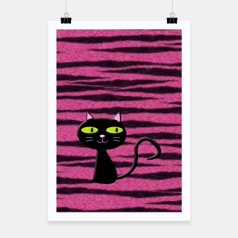 Miniatur tiger kitty Poster, Live Heroes