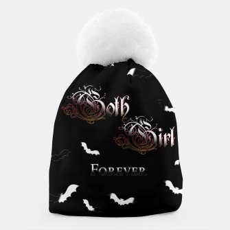 Thumbnail image of Goth Girl Forever Beanie, Live Heroes