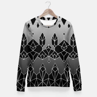 Thumbnail image of crystals of life Fitted Waist Sweater, Live Heroes