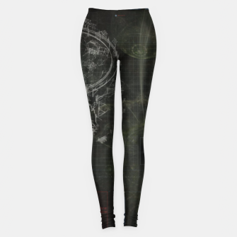 Miniatur Blueprint Leggings, Live Heroes