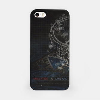 Miniatur Blueprint iPhone Case, Live Heroes