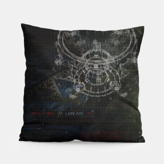 Miniatur Blueprint Pillow, Live Heroes