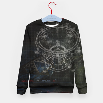 Miniatur Blueprint Kid's Sweater, Live Heroes