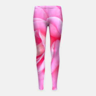 Miniaturka Blushing Rose Girl's Leggings, Live Heroes