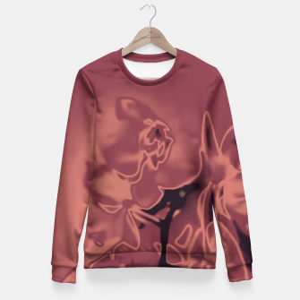 Thumbnail image of Flowery Abstract Fitted Waist Sweater, Live Heroes